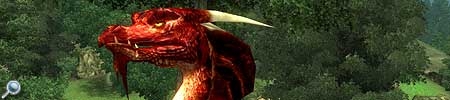 Feuerdrache für The Elder Scrolls IV Oblivion