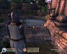 Oblivion, am ahnungslosen Wärter vorbei, Komplettlösung und Walkthrough