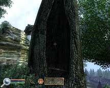 Oblivion, Eingang im toten Baum